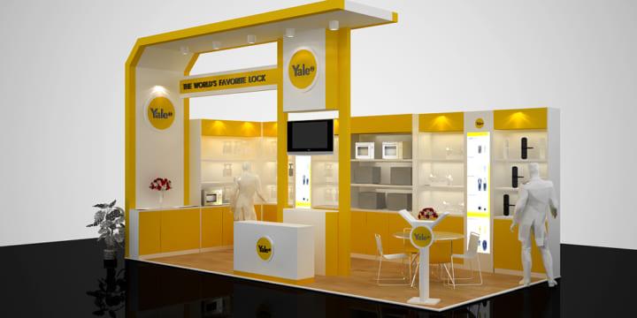 Chuyên thiết kế gian hàng triển lãm tại Bắc Kạn