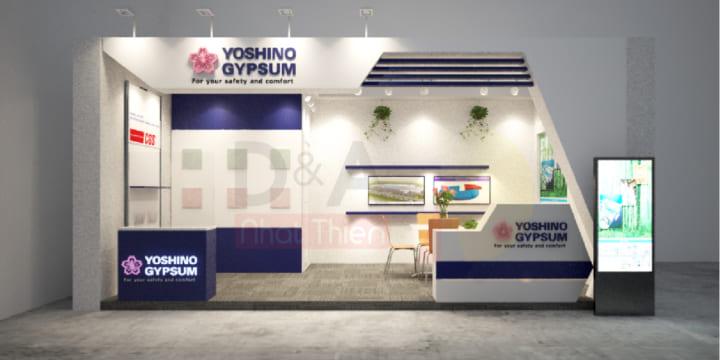 Chuyên thiết kế gian hàng triển lãm tại Quảng Ninh