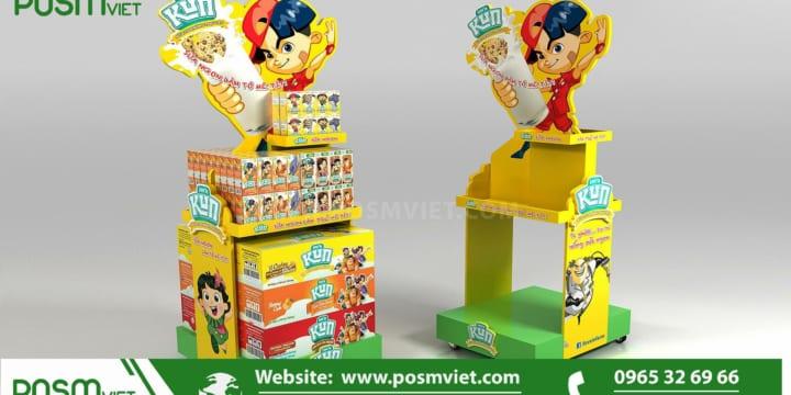 Dịch vụ chuyên sản xuất Posm, quầy kệ giá rẻ tại Trà Vinh