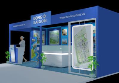 Chuyên thiết kế gian hàng triển lãm chuyên nghiệp tại Vĩnh Phúc